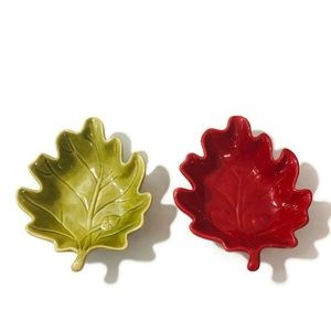 Leaf Shaped Bowls